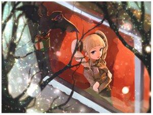 Rating: Safe Score: 46 Tags: aikatsu! animal bat blonde_hair blue_eyes hitoto snow toudou_yurika twintails User: FormX