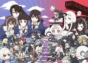 Rating: Questionable Score: 36 Tags: amagi_(kancolle) anthropomorphism arashio_(kancolle) ashigara_(kancolle) atago_(kancolle) battleship_hime chibi chi-class_torpedo_cruiser destroyer_water_oni error_musume_(kancolle) fusou_(kancolle) group haguro_(kancolle) hamakaze_(kancolle) hatsukaze_(kancolle) hayashimo_(kancolle) hayasui_(kancolle) i-19_(kancolle) isolated_island_oni jintsuu_(kancolle) kantai_collection light_cruiser_hime light_cruiser_oni majokko_(kancolle) musashi_(kancolle) myoukou_(kancolle) nachi_(kancolle) naka_(kancolle) northern_ocean_hime ooshio_(kancolle) rashinban_musume_(kancolle) re-class_battleship rensouhou-chan seaport_hime sendai_(kancolle) shimakaze_(kancolle) southern_ocean_war_hime ta-class_battleship tagme tagme_(character) takanami_(kancolle) takao_(kancolle) tsuji_kazuho unryuu_(kancolle) wo-class_aircraft_carrier yamashiro_(kancolle) yamato_(kancolle) yukikaze_(kancolle) User: ArthurS91