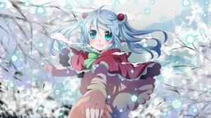 Rating: Safe Score: 77 Tags: blue_eyes blue_hair hatsune_miku mariwai_(marireroy) snow tree vocaloid User: FormX