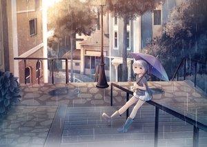 Rating: Safe Score: 12 Tags: building city loli original rain sakakidani water User: mattiasc02