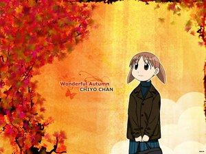 Rating: Safe Score: 16 Tags: autumn azumanga_daioh mihama_chiyo User: Oyashiro-sama