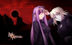 Rating: Questionable Score: 58 Tags: fate/stay_night rider saber tagme User: Dragoonxxx