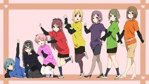 Rating: Safe Score: 23 Tags: akiyama_mio aliasing cosplay hirasawa_ui hirasawa_yui k-on! kotobuki_tsumugi mahou_shoujo_madoka_magica manabe_nodoka nakano_azusa tagme_(artist) tainaka_ritsu yamanaka_sawako User: RyuZU