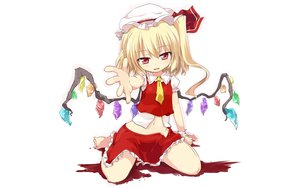 Rating: Questionable Score: 78 Tags: flandre_scarlet loli mamo_williams touhou vampire wings User: gnarf1975