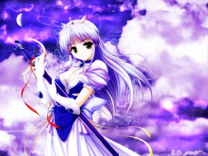 Rating: Safe Score: 31 Tags: bekkankou feena_fam_earthlight gloves green_eyes purple purple_hair sword tiara weapon yoake_mae_yori_ruri_iro_na User: Oyashiro-sama