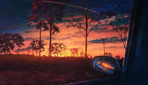 Rating: Safe Score: 34 Tags: car clouds mirror nobody original polychromatic reflection scenic signed sky skyrick9413 sunset tree User: mattiasc02
