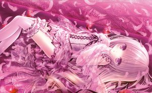 Rating: Safe Score: 97 Tags: feathers loli lolita_fashion long_hair original pink_hair tinkerbell tinkle User: luckyluna