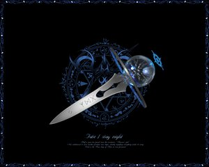 Rating: Safe Score: 18 Tags: fate_(series) fate/stay_night logo magic nobody weapon User: acucar11