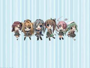 Rating: Safe Score: 11 Tags: akane_iro_ni_somaru_saka chibi katagiri_yuuhi nagase_minato ryohka tachibana_mikoto User: Megami