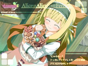 Rating: Safe Score: 20 Tags: alice_alicetel_fernek food loli wiz_anniversary User: Oyashiro-sama
