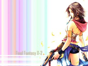 Rating: Safe Score: 24 Tags: ass brown_hair final_fantasy final_fantasy_x final_fantasy_x-2 gun short_hair weapon yuna_(ffx) User: Umbra
