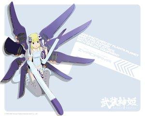 武装神姫の壁紙 1280×1024px 370KB