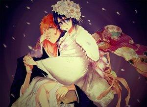 Rating: Safe Score: 40 Tags: bleach kuchiki_rukia kurosaki_ichigo male tagme tagme_(artist) User: RyuZU
