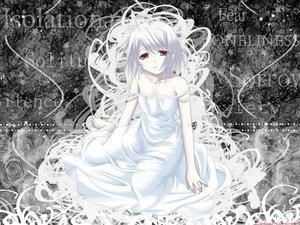 Rating: Safe Score: 9 Tags: dress red_eyes rino white_clarity white_hair User: Oyashiro-sama