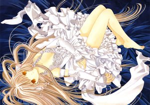 Rating: Safe Score: 44 Tags: chii chobits clamp panties scan underwear User: Xtea