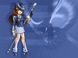 Rating: Safe Score: 1 Tags: anthropomorphism blue fedora juzo-kun linux os-tan spear weapon User: Oyashiro-sama