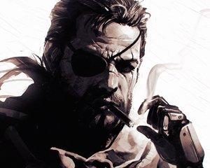 Rating: Safe Score: 107 Tags: all_male big_boss cigarette close cropped eyepatch ilya_kuvshinov male metal_gear metal_gear_solid metal_gear_solid:_peace_walker monochrome User: mattiasc02