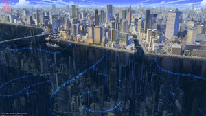 Rating: Safe Score: 81 Tags: 3d arsenixc boat building city clouds logo scenic shining_nikki sky watermark User: mattiasc02