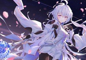 Rating: Safe Score: 86 Tags: dress fate/grand_order fate_(series) kyaroru merlin_(fate/prototype) staff User: BattlequeenYume