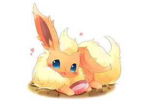 Rating: Safe Score: 21 Tags: animal cat_smile fang flareon fox heart nobody pokemon ushiinu white User: BattlequeenYume