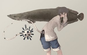 Rating: Safe Score: 20 Tags: animal fish original pointed_ears tail yuu-rin User: FormX