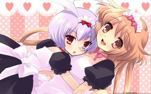 Rating: Safe Score: 19 Tags: alice_parade hitorimeno_alice itou_noiji maid shirousagi_silk User: ghostmuffin