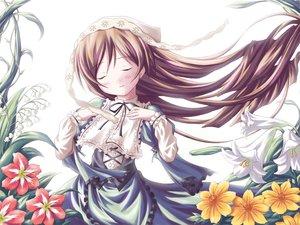 Rating: Safe Score: 20 Tags: flowers lolita_fashion rozen_maiden suiseiseki User: Oyashiro-sama