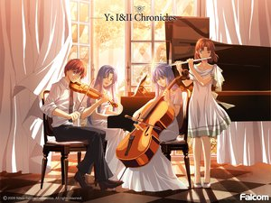 Rating: Safe Score: 23 Tags: christin_adol feena flute instrument piano reah tagme violin ys User: w7382001