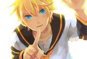 Rating: Safe Score: 19 Tags: close kagamine_len male vocaloid User: HawthorneKitty