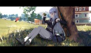 Rating: Safe Score: 64 Tags: anthropomorphism girls_frontline grass gun hk416_(girls_frontline) pantyhose playerunknown's_battlegrounds tttanggvl weapon User: FormX