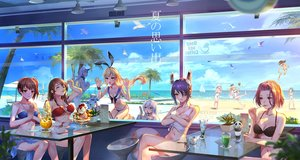 Rating: Safe Score: 82 Tags: akagi_(kancolle) animal anthropomorphism atago_(kancolle) ball beach bikini bird blonde_hair blue_eyes breasts brown_eyes brown_hair clouds drink eyepatch group headband hibiki_(kancolle) horns ice_cream kaga_(kancolle) kantai_collection kashima_(kancolle) loli long_hair navel northern_ocean_hime pcw ponytail purple_eyes purple_hair rensouhou-chan ryuujou_(kancolle) seaport_hime shimakaze_(kancolle) short_hair sky swimsuit tagme_(character) tatsuta_(kancolle) tenryuu_(kancolle) twintails water white_hair yellow_eyes yuubari_(kancolle) User: RyuZU