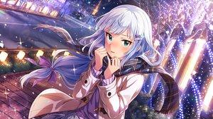 Rating: Safe Score: 41 Tags: aqua_eyes building city idolmaster idolmaster_million_live! long_hair scarf shiraishi_tsumugi tagme_(artist) white_hair User: RyuZU