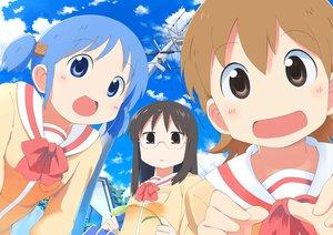 Rating: Safe Score: 17 Tags: aioi_yuuko minakami_mai naganohara_mio nichijou User: HawthorneKitty