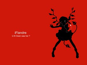 Rating: Safe Score: 35 Tags: flandre_scarlet ipod parody red silhouette touhou vampire User: grudzioh