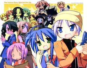 Rating: Safe Score: 59 Tags: amahara_fuyuki cosplay crossover hiiragi_kagami hiiragi_tsukasa iwasaki_minami izumi_konata kobayakawa_yutaka kuroi_nanako kusakabe_misao lucky_star minegishi_ayano mirai_nikki narumi_yui patricia_martin sakuraba_hikaru takara_miyuki tamura_hiyori User: samfrkl
