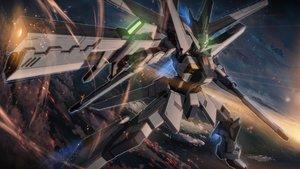 Rating: Safe Score: 110 Tags: clouds gun mecha mobile_suit_gundam sky starlight_(stack) weapon User: WingsofLight