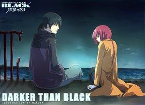 Rating: Safe Score: 21 Tags: black_hair darker_than_black hei red_hair signed suou_pavlichenko User: pantu