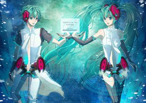 Rating: Safe Score: 38 Tags: hatsune_miku hatsune_mikuo miku_append vocaloid User: HawthorneKitty
