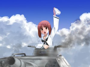 Rating: Safe Score: 30 Tags: azeruma blush clouds girls_und_panzer nishizumi_miho panties underwear User: FormX