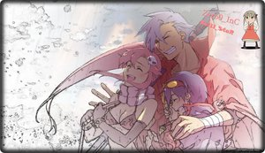 Rating: Safe Score: 26 Tags: kamina simon tengen_toppa_gurren_lagann yoko_littner User: zero_sama