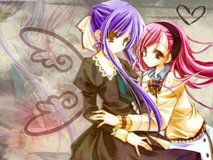 Rating: Safe Score: 7 Tags: okuwaka_tsubomi strawberry_panic suzumi_tamao User: qashairy