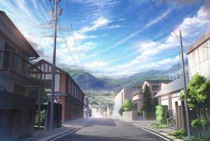 Rating: Safe Score: 75 Tags: building city clouds landscape nobody panty_party scenic sky tree yumiru User: RyuZU