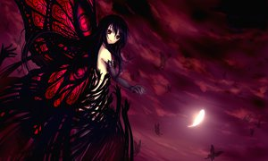 Rating: Safe Score: 328 Tags: accel_world butterfly kuro_yuki_hime maoh moon night User: C4R10Z123GT