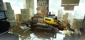 Rating: Safe Score: 44 Tags: aircraft animal bird building city original paper pixiv_fantasia swd3e2 train watermark User: RyuZU