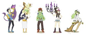 Rating: Safe Score: 38 Tags: chandelure cheren liepard pokemon reuniclus sei_(shinkai_parallel) stoutland stunfisk touko_(pokemon) touya User: FormX