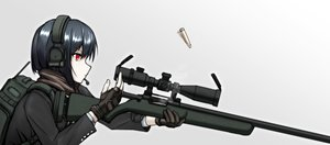 Rating: Safe Score: 26 Tags: black_hair close gloves gradient gun headphones microphone original red_eyes scarf short_hair weapon x_ace_k_x User: otaku_emmy