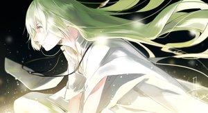 Rating: Safe Score: 39 Tags: all_male enkidu fate/grand_order fate_(series) green_hair long_hair male mizutame_tori signed yellow_eyes User: otaku_emmy