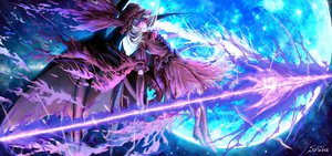 Rating: Safe Score: 77 Tags: moon night remilia_scarlet siruva sky stars touhou wings User: FormX