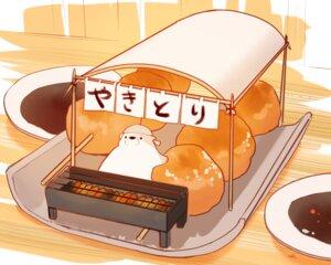 Rating: Safe Score: 22 Tags: animal bear chai_(artist) cropped food headdress nobody original polychromatic signed User: otaku_emmy