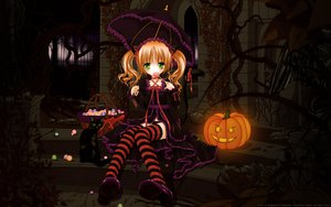 Rating: Safe Score: 109 Tags: animal_ears goth-loli halloween loli night tail thighhighs tinkerbell twintails umbrella underwear vector User: gnarf1975